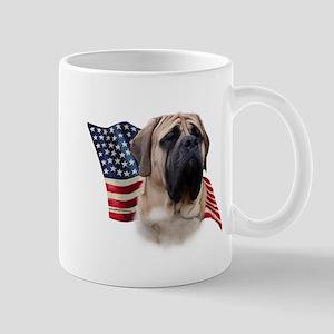 Mastiff(fawn) Flag Mug