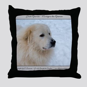 01_jan Throw Pillow