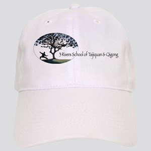 3 rivers school of taijiquan  qigong logo - cl Cap