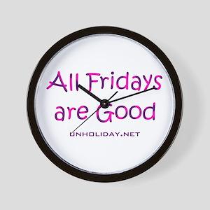 All Good Friday Wall Clock