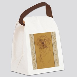 Golden_Lover_Kline Canvas Lunch Bag
