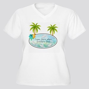I was there when  Women's Plus Size V-Neck T-Shirt