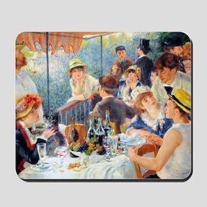 Laptop Renoir Luncheon Boating Mousepad