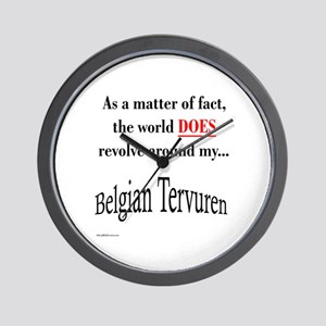 Belgian Tervuren World Wall Clock