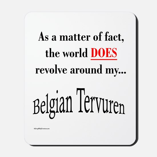 Belgian Tervuren World Mousepad