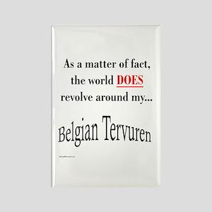 Belgian Tervuren World Rectangle Magnet
