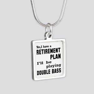 Yes, I have a Retirement p Silver Square Necklace