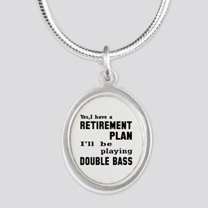 Yes, I have a Retirement plan Silver Oval Necklace
