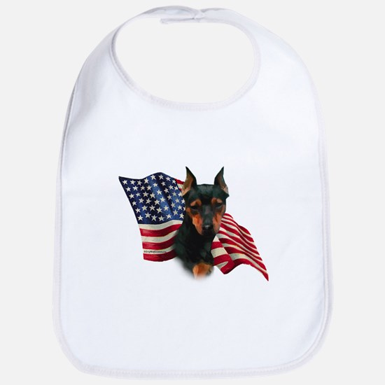 Min Pin Flag Bib