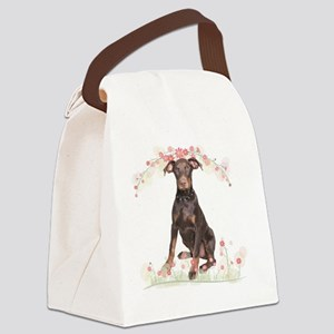 flowers2 Canvas Lunch Bag