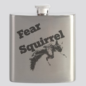 RallySquirrelWhite Flask