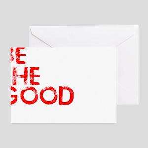 goodworld1 Greeting Card