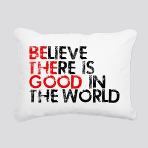 goodworld Rectangular Canvas Pillow