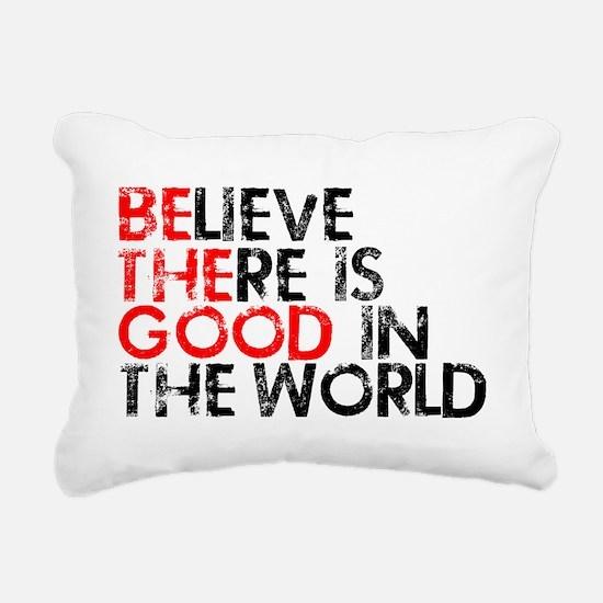goodworld Rectangular Canvas Pillow