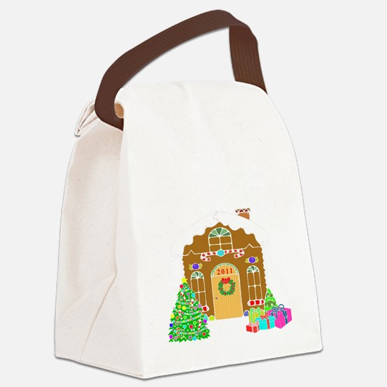 First Home 2011White Canvas Lunch Bag