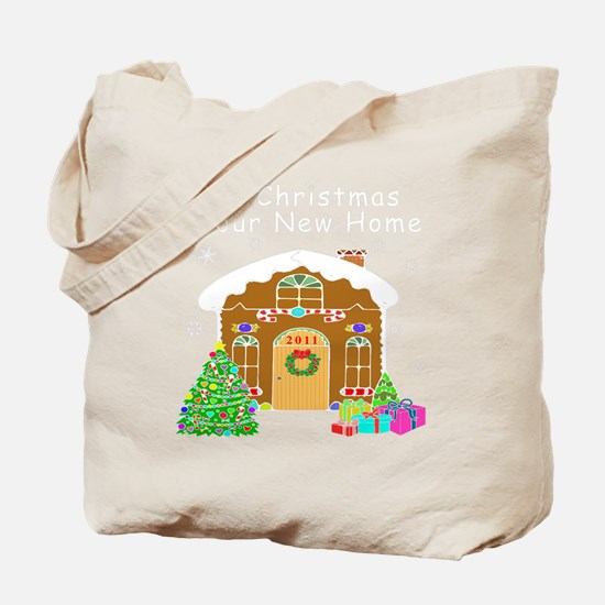 First Home 2011White Tote Bag
