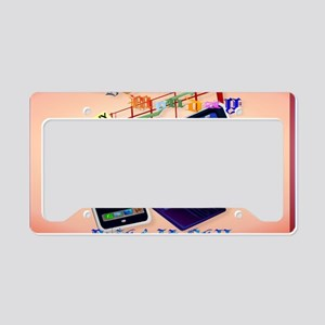 Yard Sign Cyber Monday-Bring  License Plate Holder