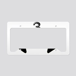 3feetlwblkcarbike License Plate Holder