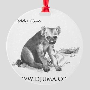TEDDY 50001 djuma Round Ornament