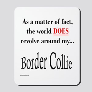 Border Collie World Mousepad