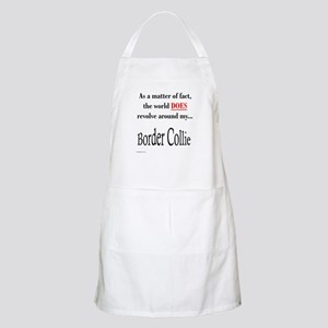 Border Collie World BBQ Apron