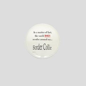 Border Collie World Mini Button