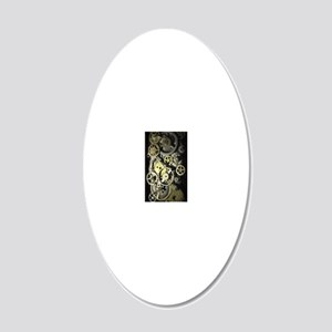 GearsIphone3G 20x12 Oval Wall Decal
