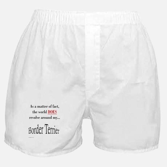 Border Terrier World Boxer Shorts