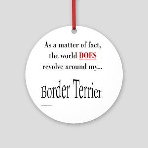 Border Terrier World Ornament (Round)