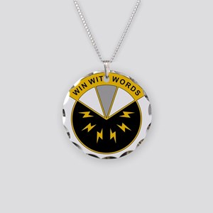 17th Psychological Operation Necklace Circle Charm
