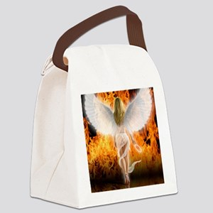 545 Fallen Angel for Cafe Press d Canvas Lunch Bag