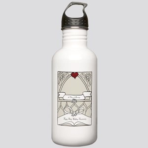 wedding_40_anniversary Stainless Water Bottle 1.0L