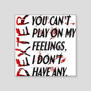 """Feelings Journal Square Sticker 3"""" x 3"""""""