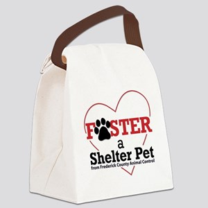 Foster a Shelter Pet Frederick MD Canvas Lunch Bag