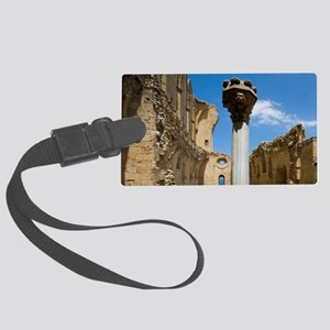 Cyprus, Bellapais, Gothic Abbey Large Luggage Tag