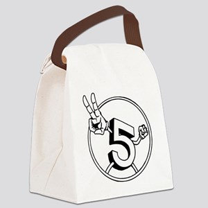 5 2 Canvas Lunch Bag