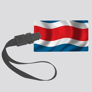 costarica_flag Large Luggage Tag