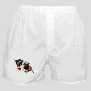 Pug Flag Boxer Shorts