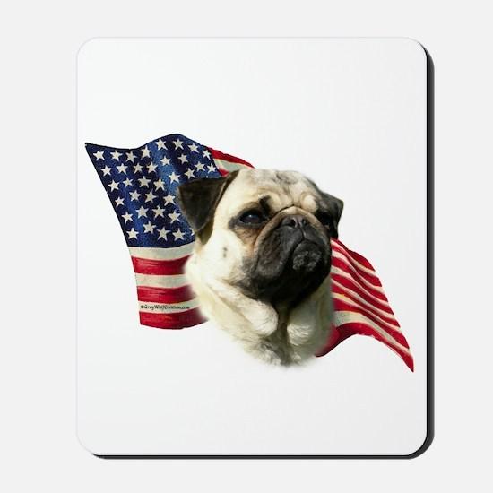 Pug Flag Mousepad