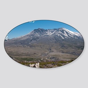 Mt St Helens-0296-2 Sticker (Oval)
