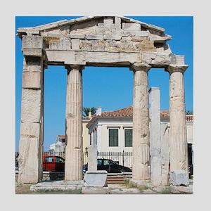 Roman Art. Roman Agora. Remains of th Tile Coaster