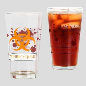 zombie-squad-1 Drinking Glass