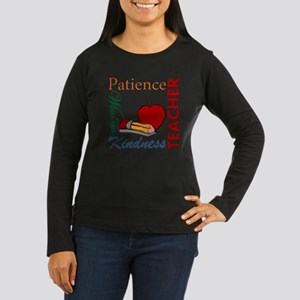 Teacher Women's Long Sleeve Dark T-Shirt