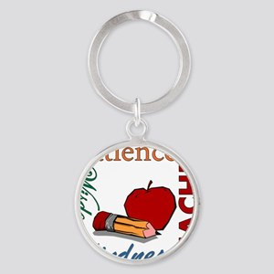 Teacher Round Keychain