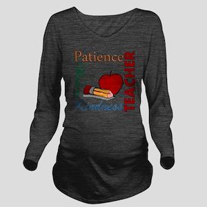 Teacher Long Sleeve Maternity T-Shirt
