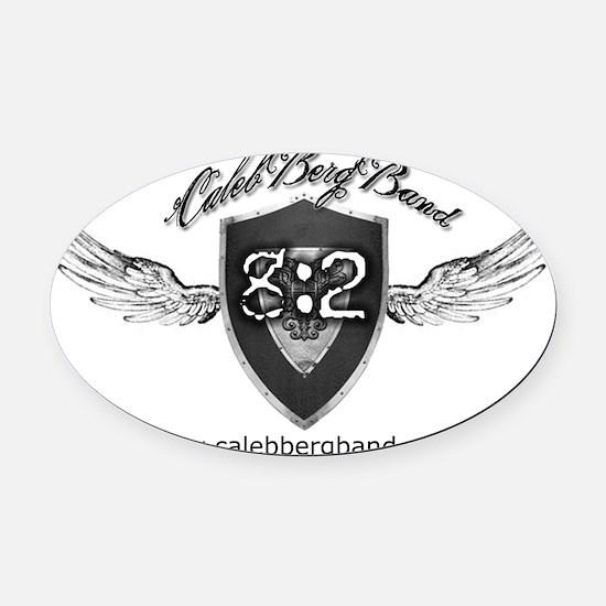 tshirtcafepressforwhitebackwebsite Oval Car Magnet
