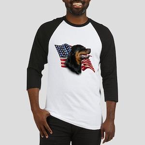 Rottweiler Flag Baseball Jersey
