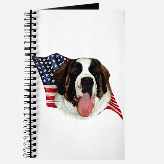Saint Bernard Flag Journal