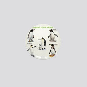 Penguins of the World Mini Button