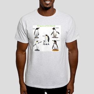 Penguins of the World Light T-Shirt